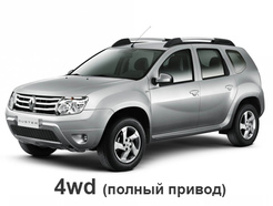 Renault Duster 2011 - 2014 (4WD)